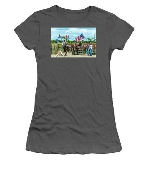 Cuban Cowboys Women's T-Shirt (Junior Cut)