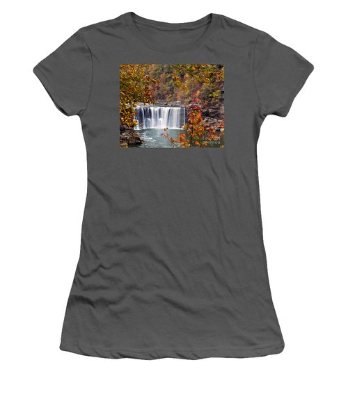 Cumberland Falls Two Women's T-Shirt (Athletic Fit)