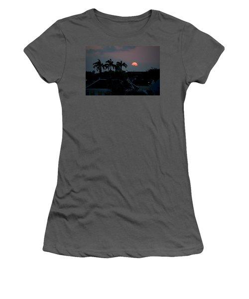 Curacao Sun Rise Women's T-Shirt (Junior Cut) by Allen Carroll