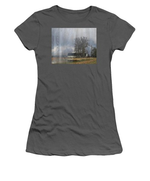 Curtains Of The Mind Women's T-Shirt (Junior Cut) by I'ina Van Lawick