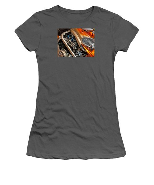 Custom Motorcycle Women's T-Shirt (Athletic Fit)