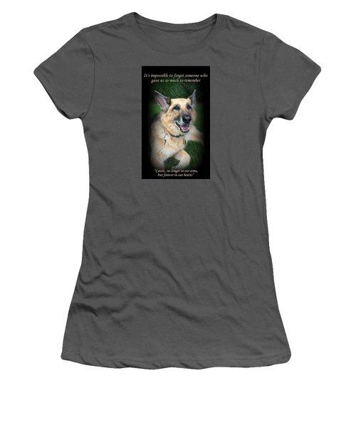 Custom Paw Print Cavot Women's T-Shirt (Athletic Fit)