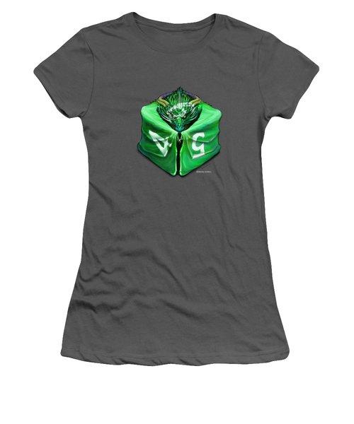 D6 Dragon Dice Women's T-Shirt (Athletic Fit)