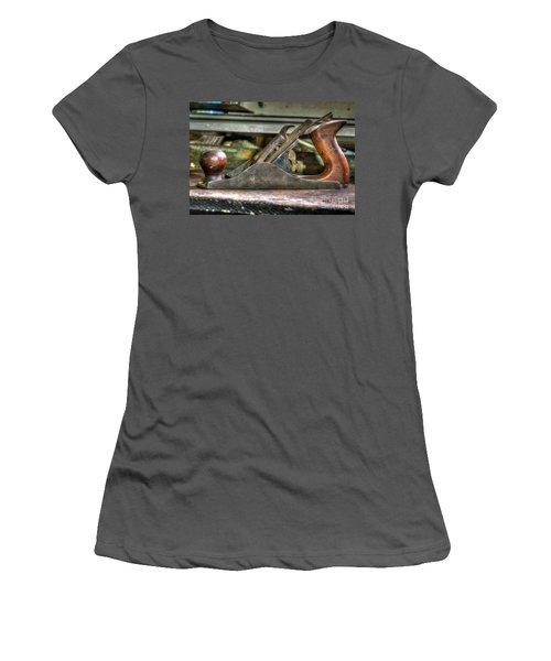 Women's T-Shirt (Junior Cut) featuring the photograph Da Plane by Douglas Stucky