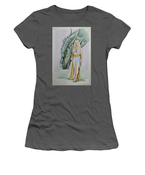 Daenerys Targaryen - Game Of Thrones Women's T-Shirt (Athletic Fit)