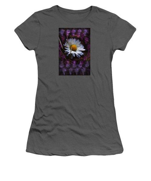 Women's T-Shirt (Junior Cut) featuring the photograph Dainty Daisy by Adria Trail