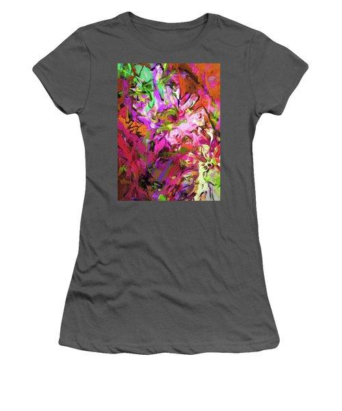 Daisy Rhapsody Petal Pink Women's T-Shirt (Athletic Fit)