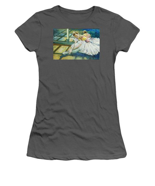 Dancer Women's T-Shirt (Athletic Fit)