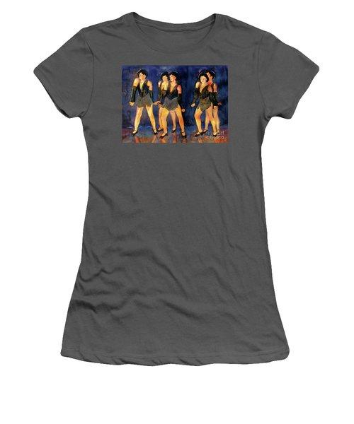 Dancers  Spring Glitz     Women's T-Shirt (Athletic Fit)