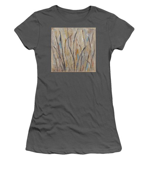 Dancing Cattails I Women's T-Shirt (Athletic Fit)