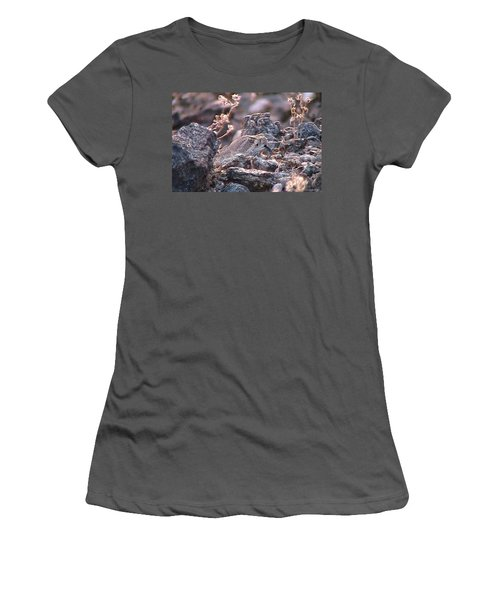 Dangerous Peekaboo  Women's T-Shirt (Athletic Fit)