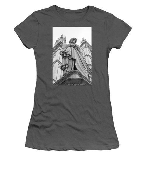 Dante Alighieri Women's T-Shirt (Junior Cut) by Sonny Marcyan
