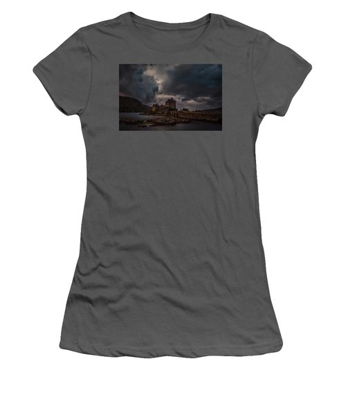 Dark Clouds #h2 Women's T-Shirt (Athletic Fit)