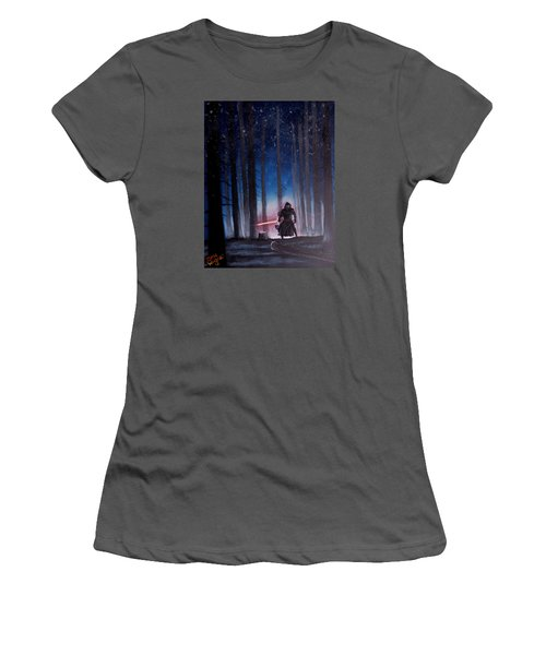 Dark Jedi Women's T-Shirt (Athletic Fit)