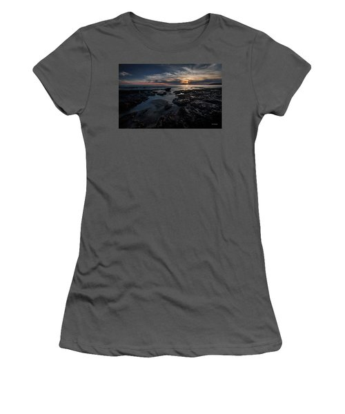 Dark  Light Women's T-Shirt (Athletic Fit)