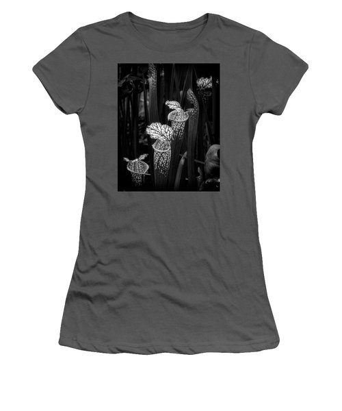 Women's T-Shirt (Athletic Fit) featuring the photograph Dark Pitchers by Alan Raasch