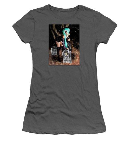 Dark Rain Women's T-Shirt (Junior Cut)