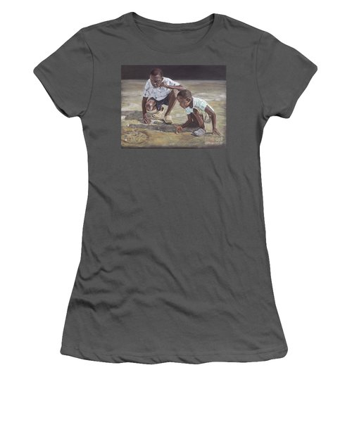 David And Goliath Women's T-Shirt (Athletic Fit)