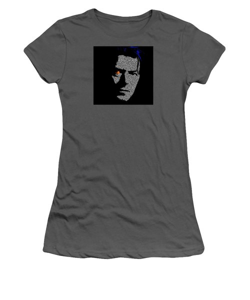 David Bowie 1 Women's T-Shirt (Junior Cut) by Emme Pons