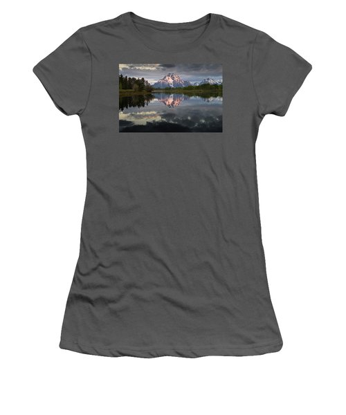 Dawn At Oxbow Bend Women's T-Shirt (Athletic Fit)