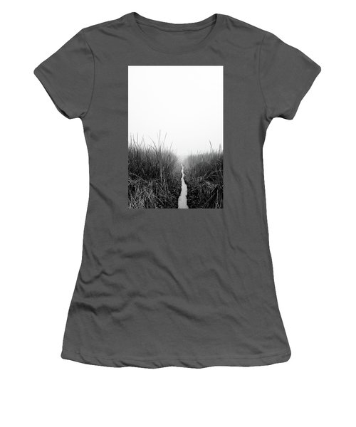 Dawn On Back Bay  Women's T-Shirt (Athletic Fit)
