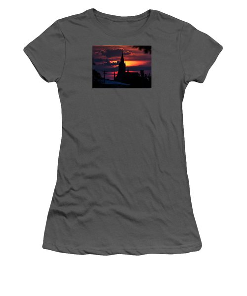 Dawning Faith Women's T-Shirt (Junior Cut) by Shirley Heier