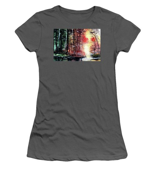 Daybreak 2 Women's T-Shirt (Junior Cut) by Anil Nene
