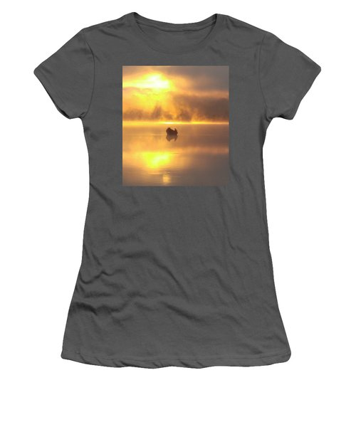 Daybreak Fishermen Women's T-Shirt (Athletic Fit)