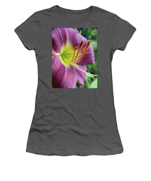 Daylilies In Summer Women's T-Shirt (Athletic Fit)
