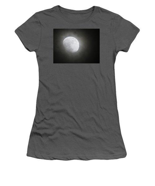 Daytona Moon Women's T-Shirt (Junior Cut) by Kathy Long