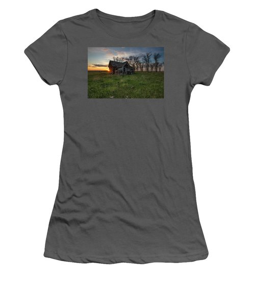 Women's T-Shirt (Junior Cut) featuring the photograph Dearly Departed by Aaron J Groen