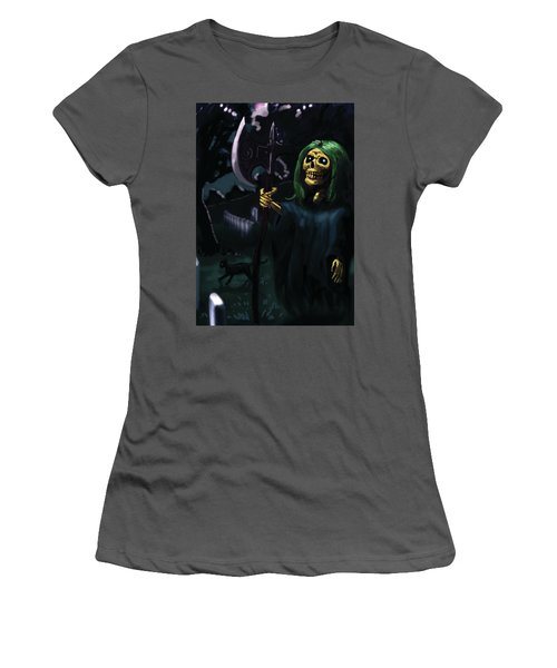 Death Women's T-Shirt (Athletic Fit)