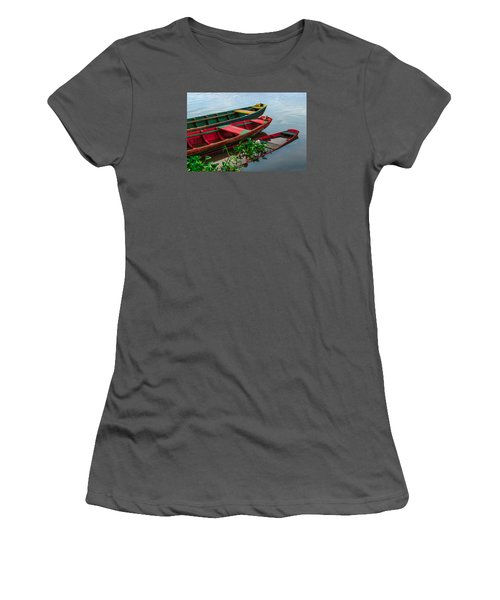 Decaying Boats Women's T-Shirt (Junior Cut) by Celso Bressan