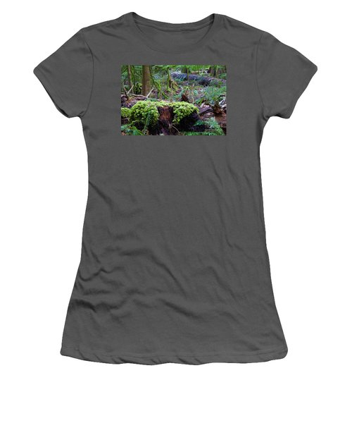 Decomposers Women's T-Shirt (Athletic Fit)