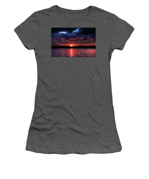 Women's T-Shirt (Athletic Fit) featuring the photograph Deep Sky by Michaela Preston