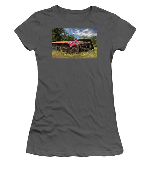 Deep South Farm Women's T-Shirt (Athletic Fit)