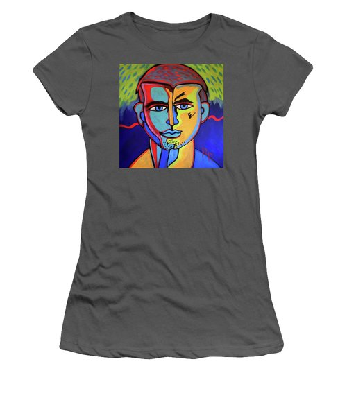 Delectable Strawberry Man By Robert Erod  Artist Women's T-Shirt (Athletic Fit)