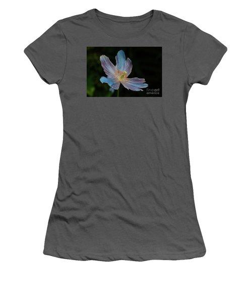 Delicate Blue Women's T-Shirt (Athletic Fit)