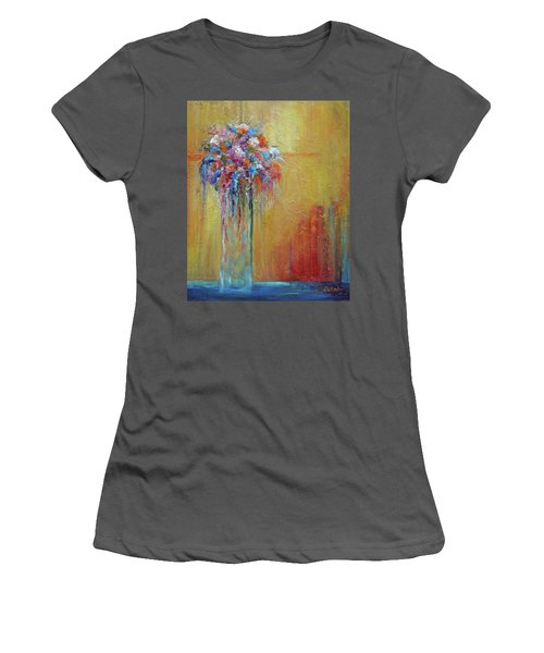 Delivered In Time Women's T-Shirt (Junior Cut) by Roberta Rotunda