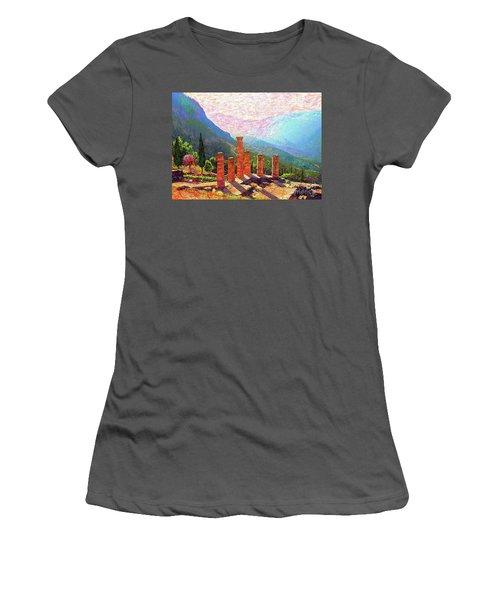 Delphi Magic Women's T-Shirt (Junior Cut) by Jane Small