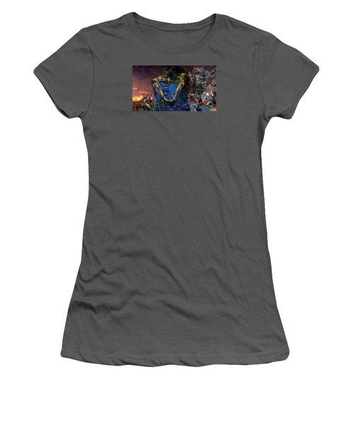 Demon  Women's T-Shirt (Athletic Fit)