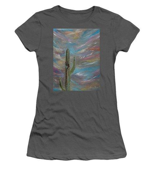 Desert Dust Women's T-Shirt (Athletic Fit)