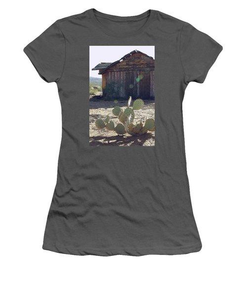 Desert Home Women's T-Shirt (Athletic Fit)