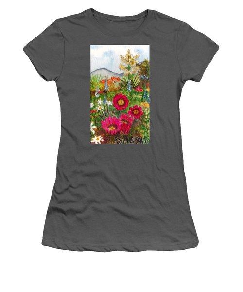 Desert Spring Women's T-Shirt (Athletic Fit)