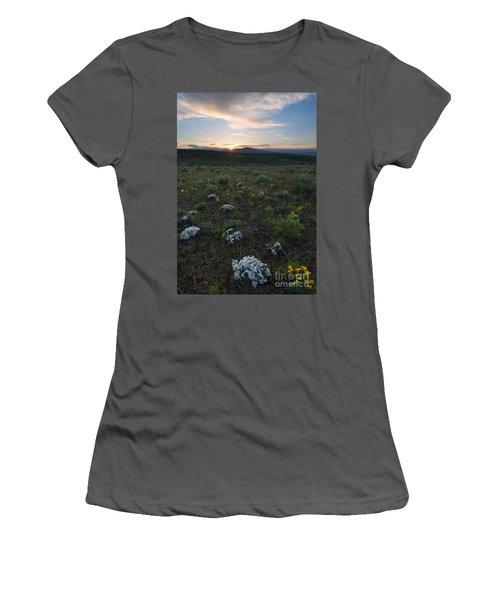 Desert Sunburst Women's T-Shirt (Athletic Fit)