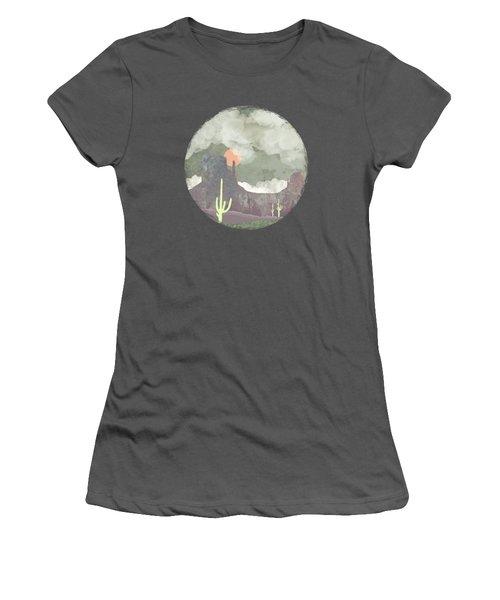 Desertscape Women's T-Shirt (Athletic Fit)