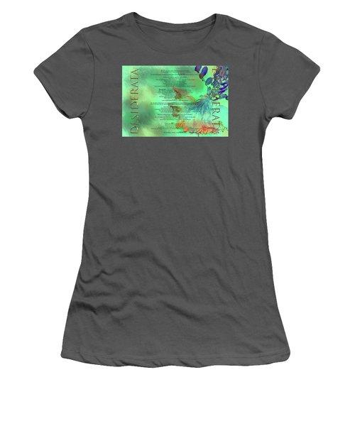 Desiderata #2 Women's T-Shirt (Athletic Fit)