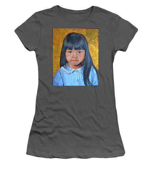 Determination Women's T-Shirt (Athletic Fit)