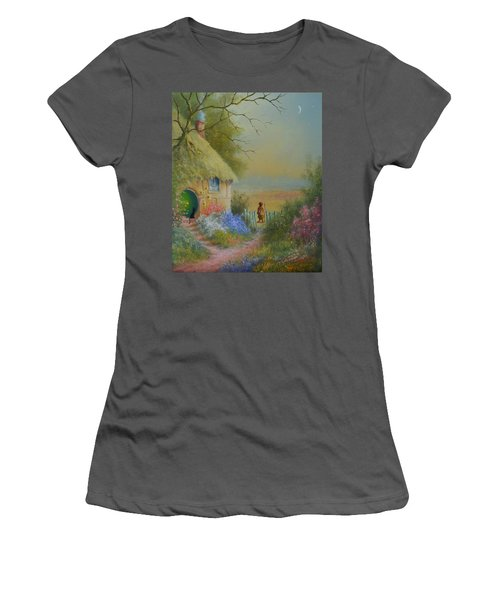 Through The Gate Women's T-Shirt (Athletic Fit)