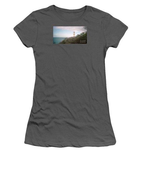 Diamond Head Light House Women's T-Shirt (Athletic Fit)